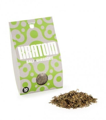 Kratom Bali (Mitragyna speciosa), 10 gramm