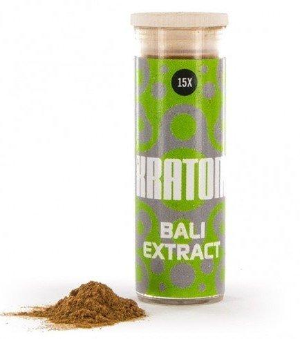 Kratom Bali 15x Extract (Mitragyna speciosa), 3 gramm
