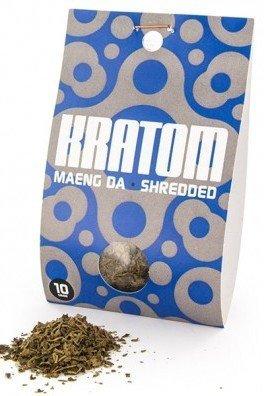 Kratom Maeng Da (Mitragyna speciosa), shredded