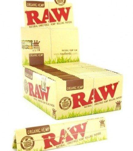 RAW Organic Hanf Blättchen King Size