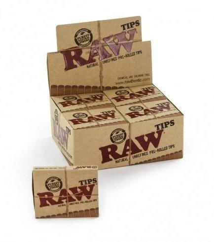 Raw Tips Vorgerollt