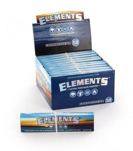 Zigarettenpapier Elements Connoisseur + Tips