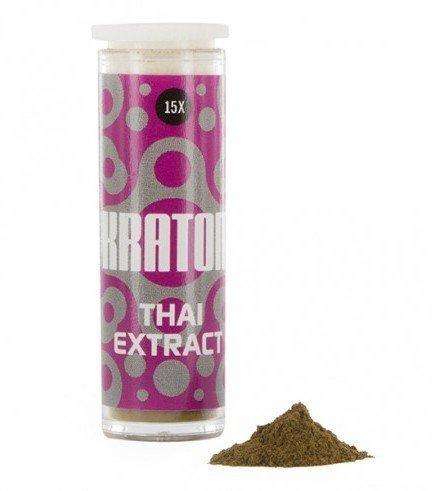 Kratom Thai 15x Extract (Mitragyna speciosa),1 gramm