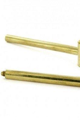 Metall Purpfeife