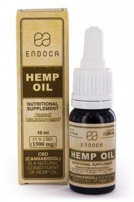 Endoca Hemp Oil (15% CBD)
