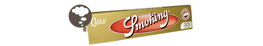 BLÄTTCHEN SMOKING GOLD KING SIZE