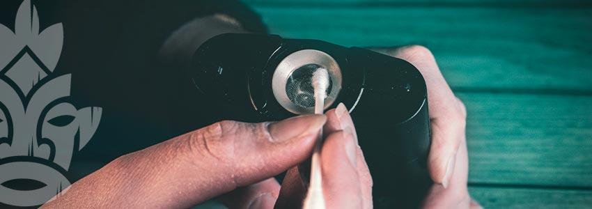 Reinigung Eines Vaporizers Für Getrocknete Kräuter
