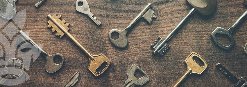 Schlüssel Und Kreditkarte