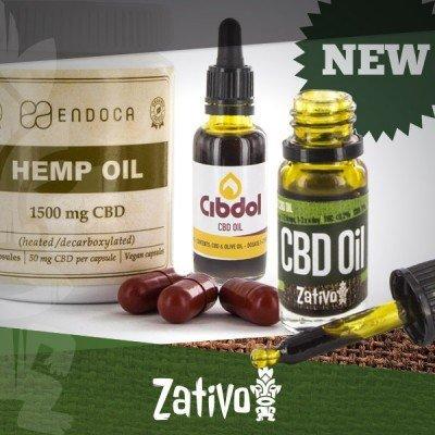 Jede Menge Neue CBD-Produkte In Unserem Sortiment!