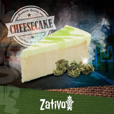 Wie Du New York Cheesecake mit Cannabis machst